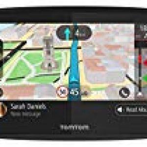 TomTom GO 520 World – Navegador GPS (5″ Pantalla táctil, Flash, batería, mechero, USB, Interno), (versión Europea España, Italia) [OFERTAS]