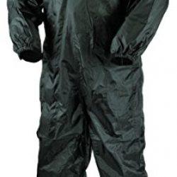Nerve Hard Rain Traje Impermeable de Moto de Lluvia, Negro, XL [OFERTAS]