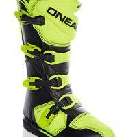 0329-5101 – Oneal Rider EU Motocross Boots 44 Neon Yellow (UK 9.5) [OFERTAS]