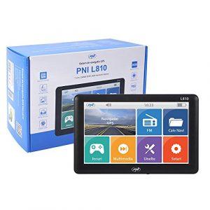 Sistema de Navegación GPS de 7″ PNI L810 de 7 Pulgadas, 800 MHz, 256M DDR, 8 GB Compatible con Cualquier Mapa Europeo Completo, sin Mapa preinstalado [OFERTAS]